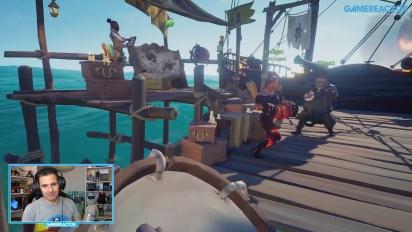 Sea of Thieves: Temporada 2 - 3 horas con 3 jugadores en directo