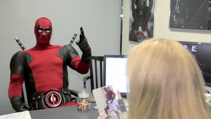 Deadpool - Deadpool Visits Marvel HQ Trailer