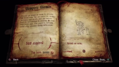 Castlevania: Lords of Shadow 2 - Mastery System