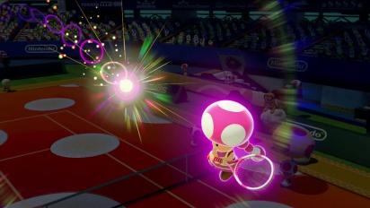 Mario Tennis: Ultra Smash – Tráiler Toadette entra en la cancha