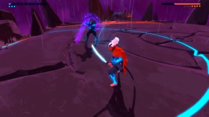 Furi - Gameplay primera batalla de jefe
