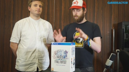 World of Final Fantasy - Competition Teaser And Unboxing