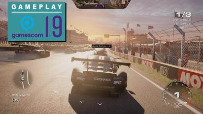 Grid - Gameplay de Gamescom