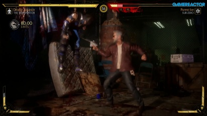Mortal Kombat 11 - Gameplay de Terminator T-800 vs Sub-Zero