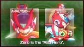 Mega Man Zero/ZX Legacy Collection - Red Hero Trailer