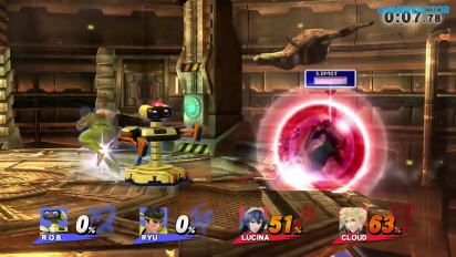 Super Smash Bros. for Wii U - Gameplay online 2v2 En Serio avanzado