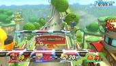 Super Smash Bros. for Wii U - Gameplay Todos contra Todos vs Amiibo de nivel 50