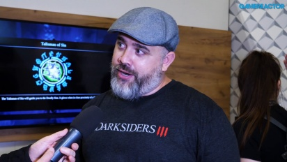 Darksiders III - Entrevista a Richard Vorodi