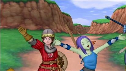 Dragon Quest X Online - tráiler japonés