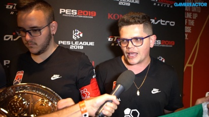 PES League World Finals 2019 - Entrevista a los campeones mundiales Co-Op