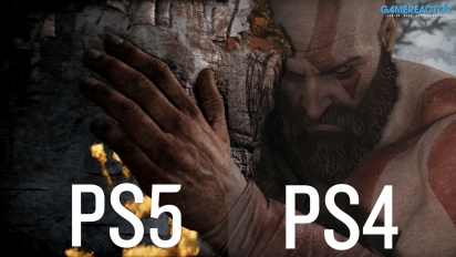 God Of War - Comparación entre PS4 y PS5