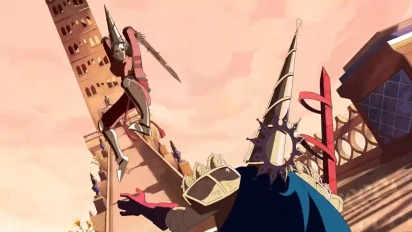 Blasphemous - Wounds of Eventide Update Animated Reveal Trailer