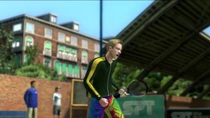 Virtua Tennis 4 - tráiler del World Tour