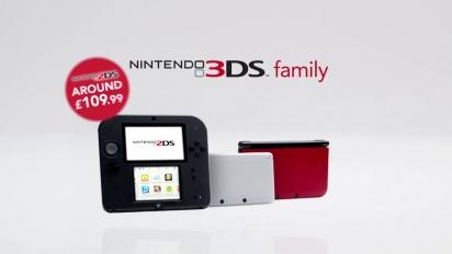 Nintendo 3DS - Tráiler de la Familia 3DS