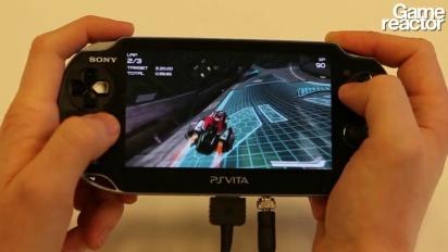 Wipeout 2048 - partida en la PS Vita