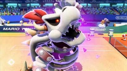 Mario Tennis: Ultra Smash – Tráiler Bowsitos, Boo y Bowsy entran en la cancha