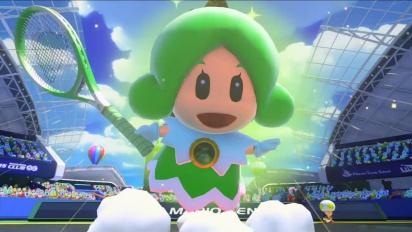 Mario Tennis: Ultra Smash – Tráiler La Princesa Hada entra en la cancha