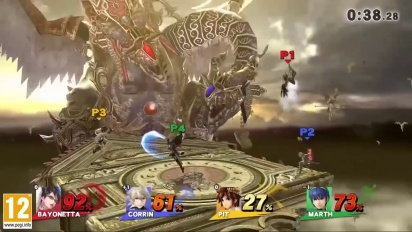 Super Smash Bros. for Nintendo 3DS & Wii U - Gameplay Torre del Reloj de Umbra