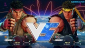 Street Fighter V - Gameplay beta: Ryu vs. Ryu