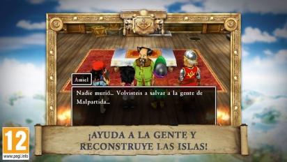 Dragon Quest VII: Fragmentos de un Mundo Olvidado - Tráiler español de presentación
