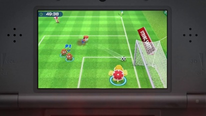 Mario Sports Superstars – Tráiler del Tiro a Puerta (Fútbol)