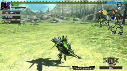 Monster Hunter XX - Gameplay del Gran Maccao en Nintendo Switch