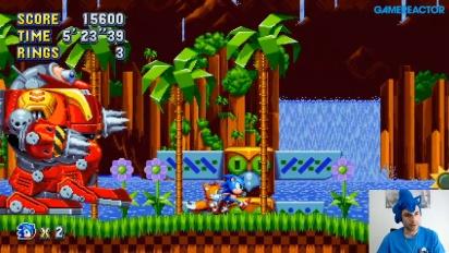 Sonic Mania - Replay del livestream en español