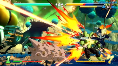 Dragon Ball FighterZ - Gameplay en japonés
