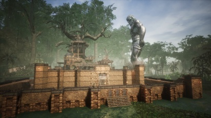Conan Exiles - Gameplay en el modo asalto JcJ