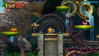 Donkey Kong Country: Tropical Freeze para Nintendo Switch - Gameplay mundo 1-3