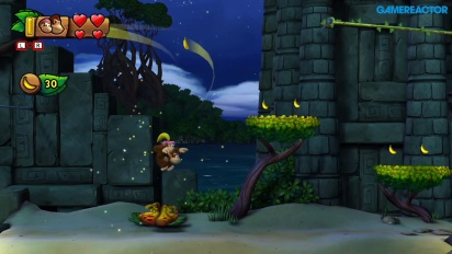 Donkey Kong Country: Tropical Freeze para Nintendo Switch - Gameplay mundo 1-A