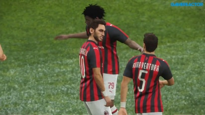 Pro Evolution Soccer 2019 - Gameplay partido completo Inter - Milán
