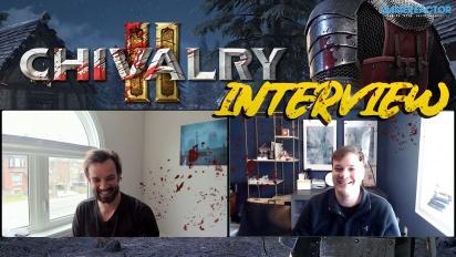 Chivalry 2 - Entrevista a Steve Piggott y Rasmus Löfström