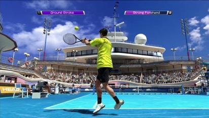 Virtua Tennis 4 - Kinect Trailer