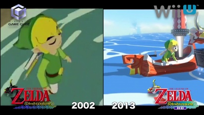 The Legend of Zelda: The Wind Waker HD - comparativa Gamecube vs. Wii U 1