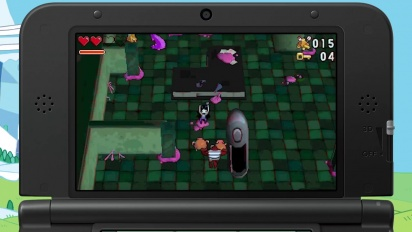 Adventure Time: Explore the Dungeon Because I Don't Know!  - 3DS Trailer
