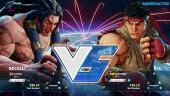 Street Fighter V - Gameplay beta: Necalli vs. Ryu