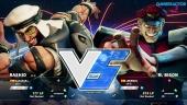 Street Fighter V - Gameplay beta: Rashid vs. M. Bison