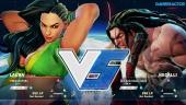 Street Fighter V - Gameplay beta: Laura vs. Necalli