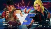 Street Fighter V - Gameplay beta: Ryu vs. Ken