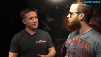 Warhammer 40,000: Dawn of War 3 - Entrevista a Brent Disbrow