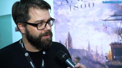 Anno 1800 - Entrevista a Dirk Riegert
