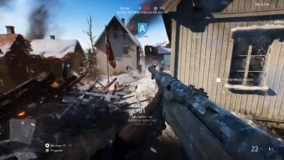 Battlefield V - Grand Operations PC NVidia Gameplay