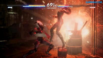Dead or Alive 6 - Gameplay de Ayane vs. Kasumi
