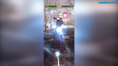 Harry Potter: Wizards Unite - Gameplay combate Bruja Tenebrosa