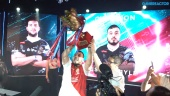 PES League World Finals 2019 - La celebración del campeón Usmakabyle