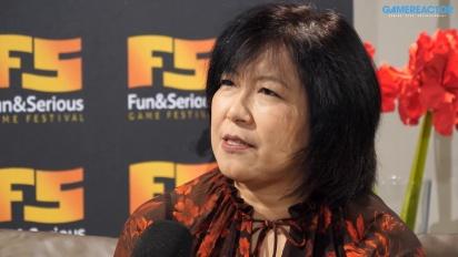 Yoko Shimomura - Entrevista Fun & Serious 2019