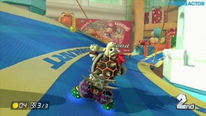 Mario Kart 8 - Gameplay del DLC Paquete 2: Copa Campana