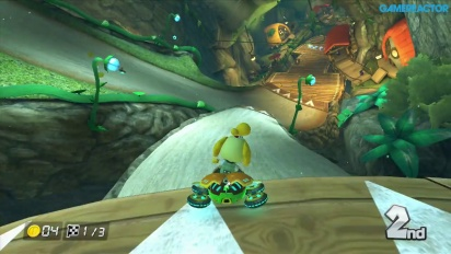 Mario Kart 8 - Gameplay del DLC Paquete 2: Copa Crossing