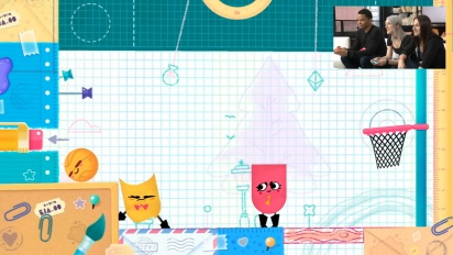 Snipperclips: ¡A recortar en compañía! - Gameplay de Nintendo Treehouse